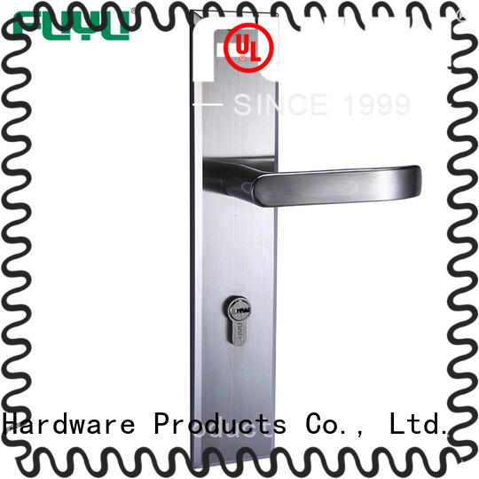 FUYU mortise stainless steel door locks on sale for mall