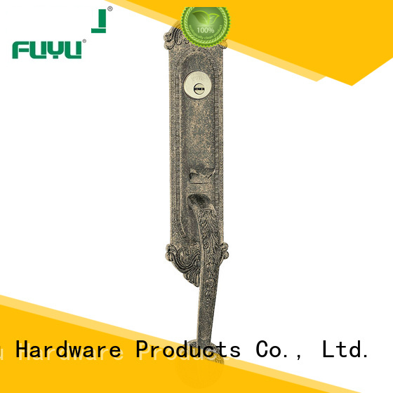 high security grip handle door lock supplier for mall