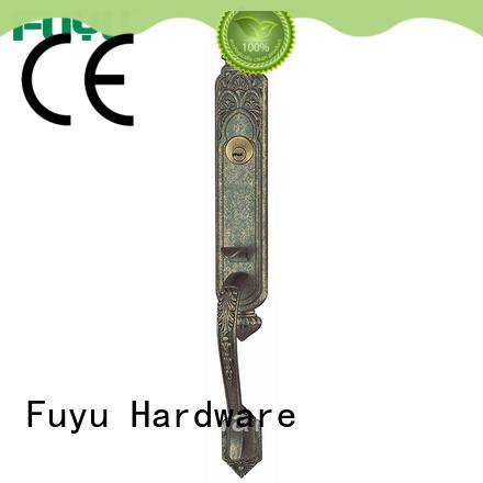 FUYU durable zinc alloy door lock villa for entry door