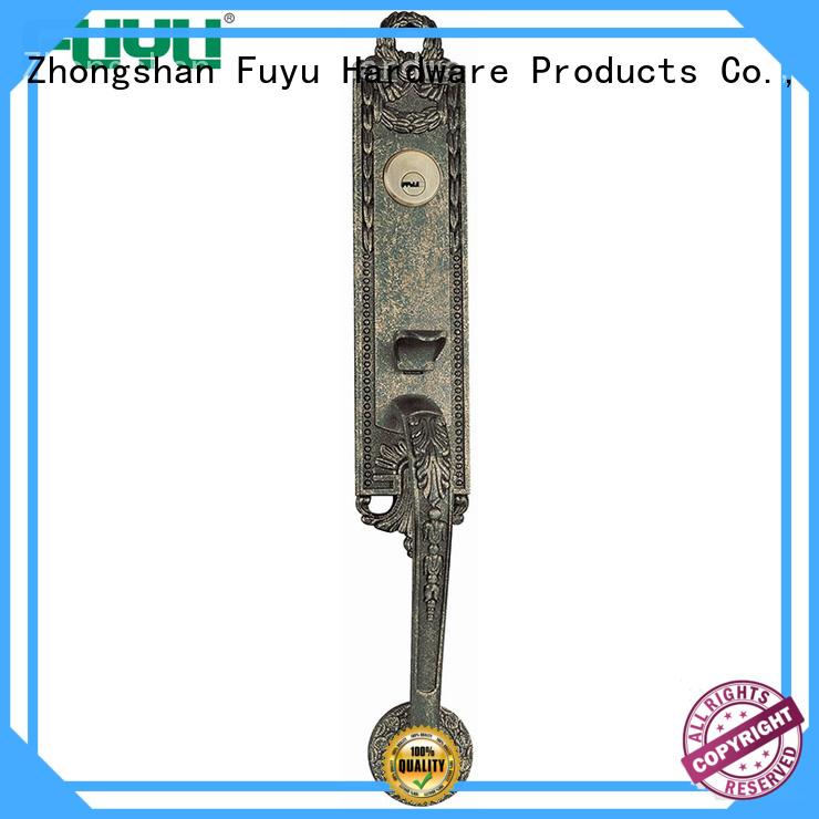 FUYU doors zinc alloy door lock for wooden door on sale for indoor