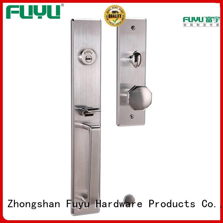 stronge customized stainless steel door lock single on sale for wooden door