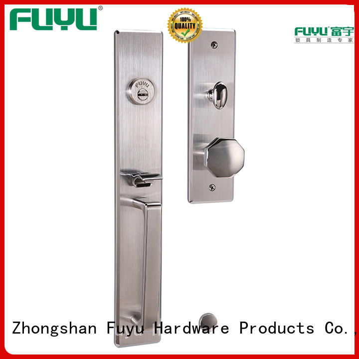 stronge customized stainless steel door lock single on sale for wooden door