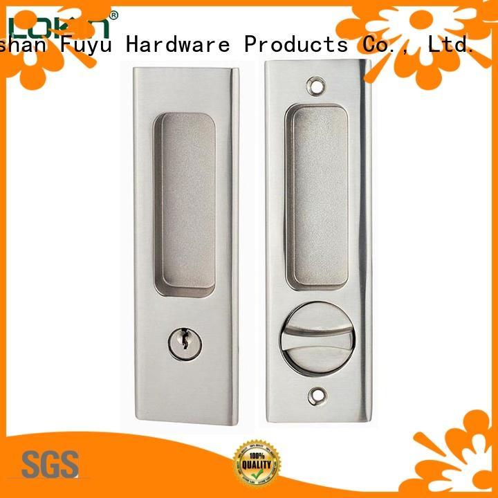 FUYU high security zinc alloy door lock for wood door on sale for mall