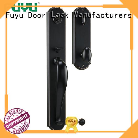 FUYU custom handle door lock manufacturer for entry door