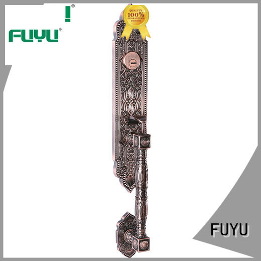 FUYU selling zinc alloy door lock on sale for mall