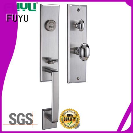 FUYU custom grip handle door lock manufacturer for shop