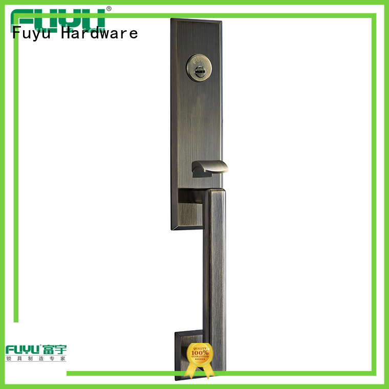 high security anti-theft zinc alloy door lock on sale for mall
