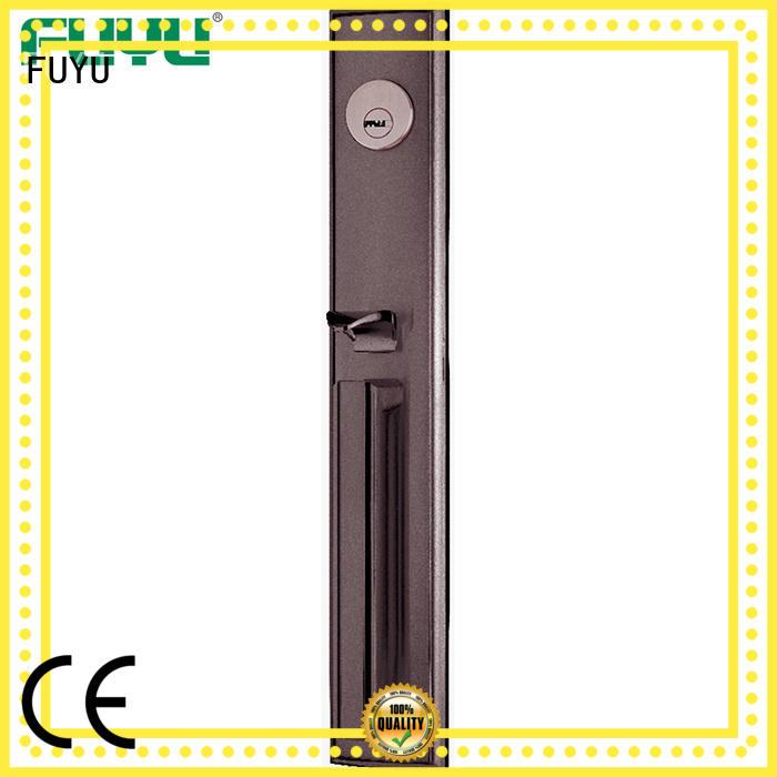 FUYU quality zinc alloy door lock with latch for entry door