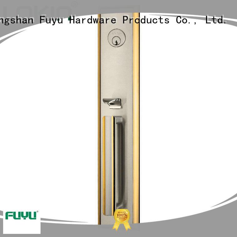 FUYU install zinc alloy door lock for wood door meet your demands for shop