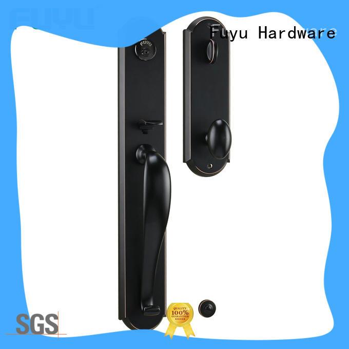 double american style zinc alloy door lock meet your demands for entry door FUYU