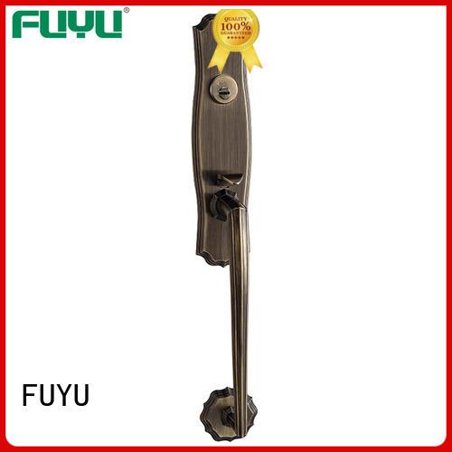 cylinder zinc alloy door lock for metal door on sale for mall FUYU