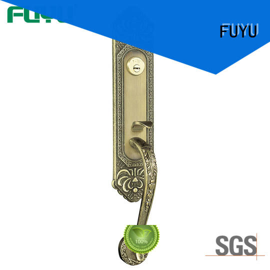Easy Install Grip Handle Door Lock Set Made By Zhongshan lock Manufacturer