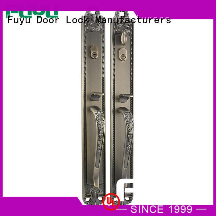 FUYU high security grip handle door lock for sale for residential