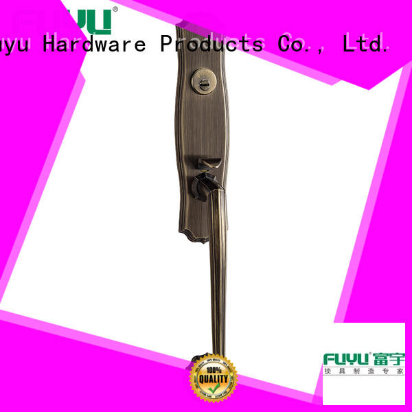 FUYU online zinc alloy mortise door lock with latch for mall