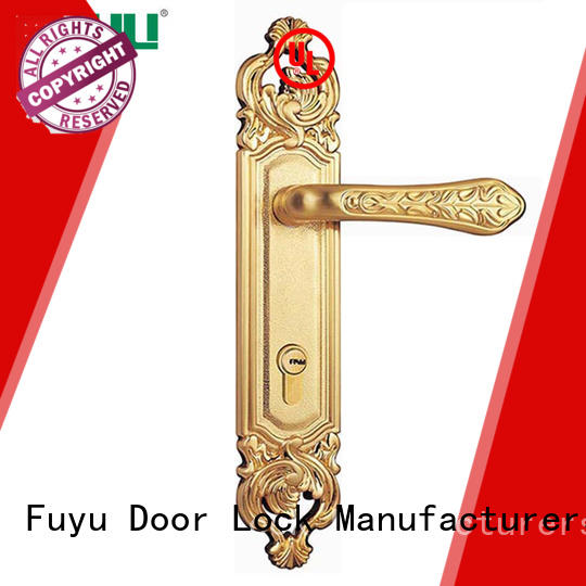 FUYU quality entry door mortise lock set with international standard for shop
