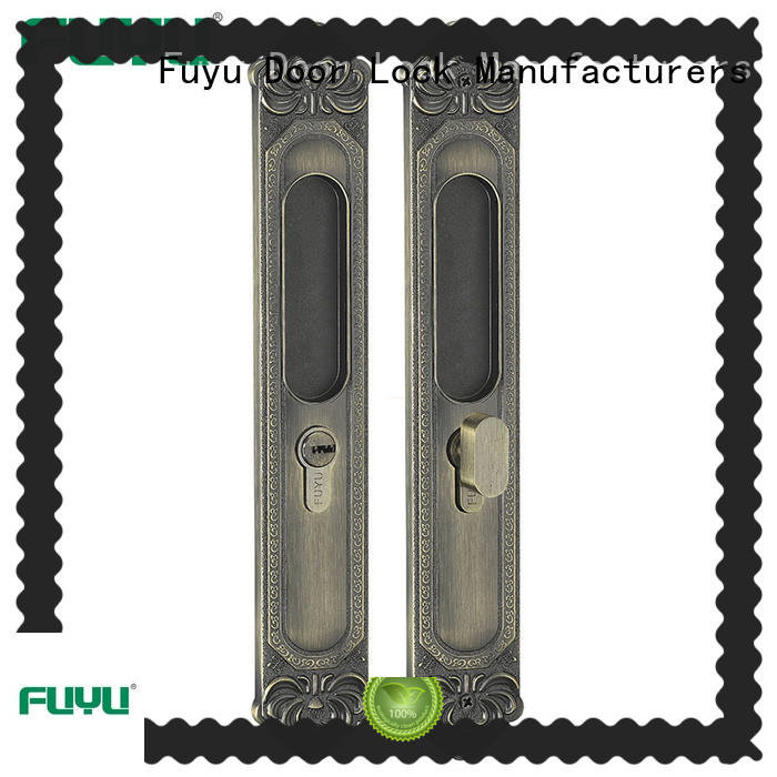 FUYU online home door locks with latch for indoor
