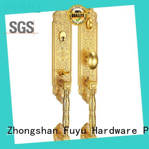 FUYU fittings zinc alloy door lock for wooden door on sale for indoor