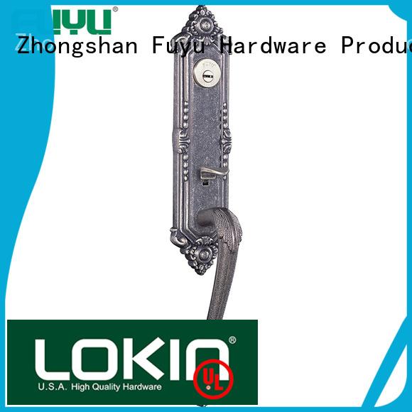 FUYU high security door handle lock meet your demands for indoor