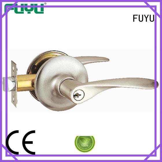FUYU toilet door lock extremely security for wooden door