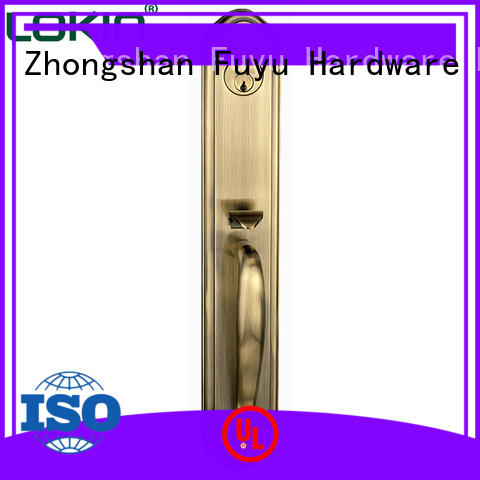 high security door handle lock year with latch for indoor