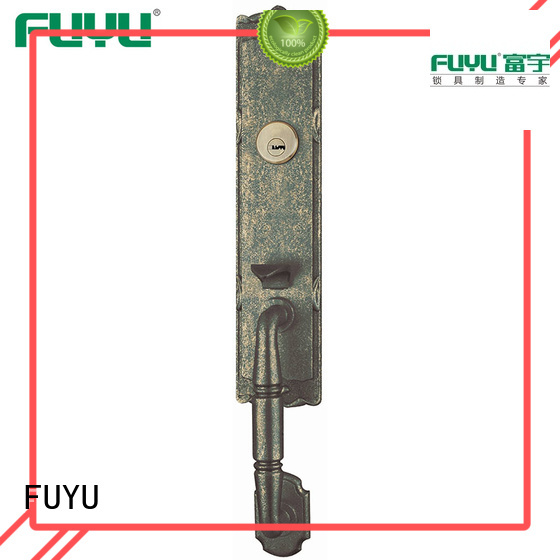 FUYU profile zinc alloy mortise door lock on sale for entry door