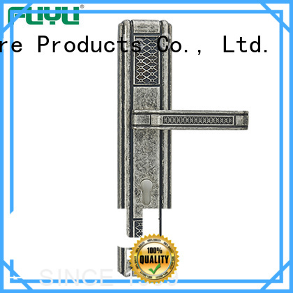 FUYU material zinc alloy door lock wholesale with latch for shop