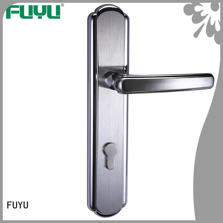 best panel lever handle door lock with international standard for entry door