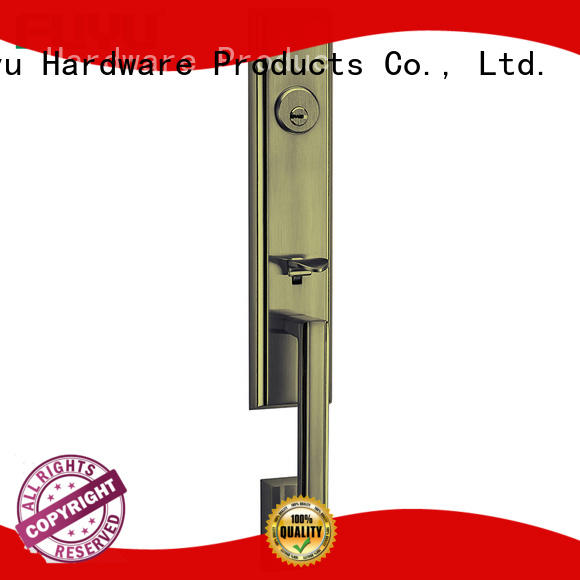 FUYU modern best front door locks gate for shop