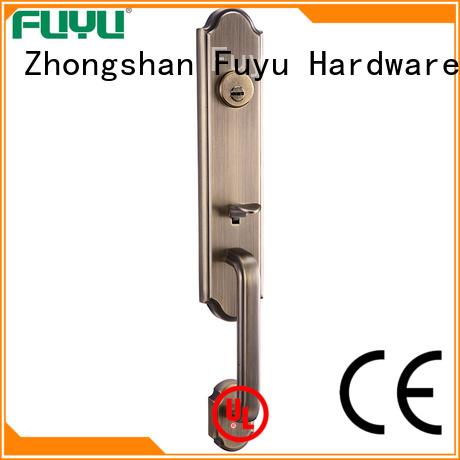 kits zinc alloy villa door lock handleset for shop FUYU