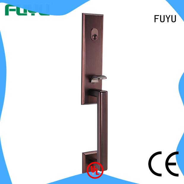 durable zinc alloy door lock for wood door selling with latch for entry door