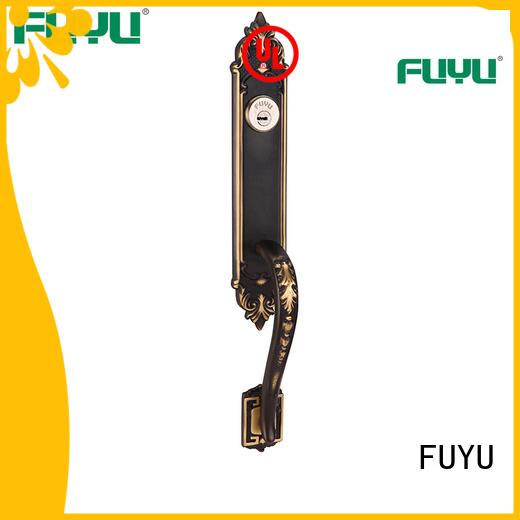 FUYU zinc door lock meet your demands for entry door