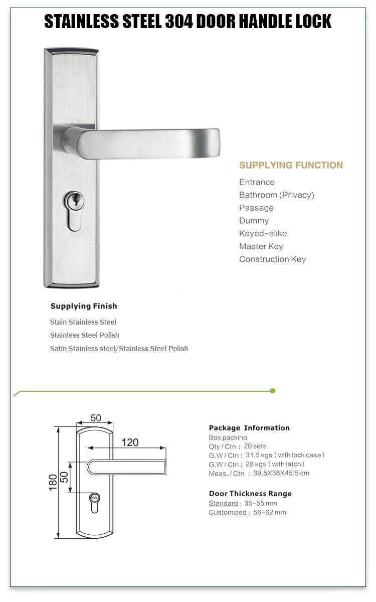 FUYU locks aluminium door lock extremely security for wooden door-1