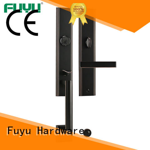 alloy lock manufacturing with latch for entry door FUYU