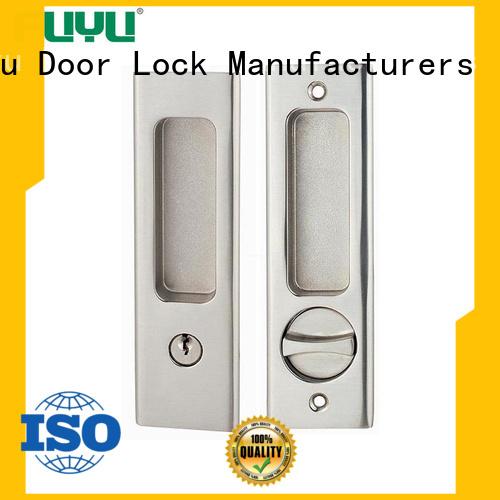 high security double sliding door lock for sale for entry door