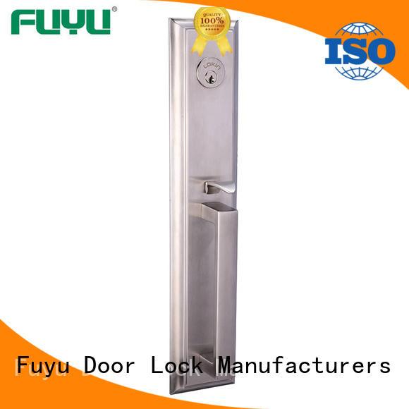 FUYU oem multipoint lock manufacturer for wooden door