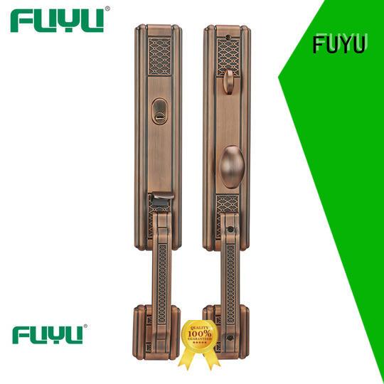 FUYU chinese zinc alloy door lock for wooden door meet your demands for shop