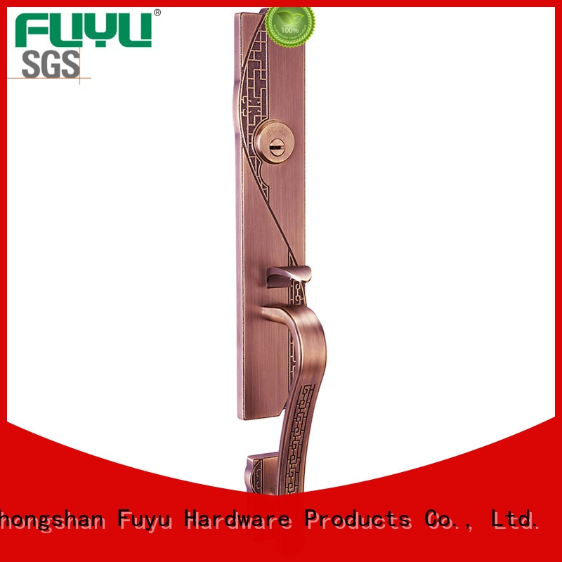 FUYU alloy mortise handle lock cylinder for home