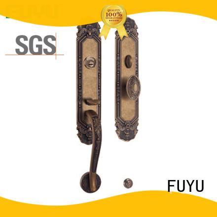 FUYU lever brass bathroom door locks meet your demands for shop
