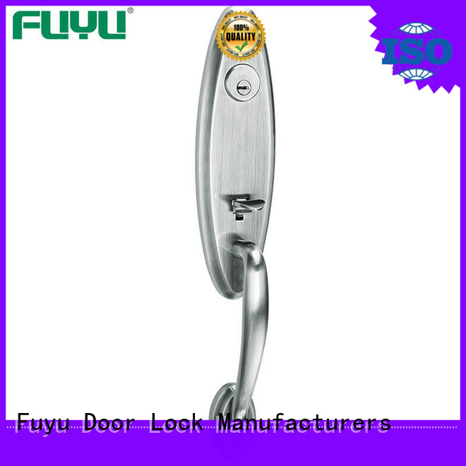 FUYU durable door lock design with latch for shop