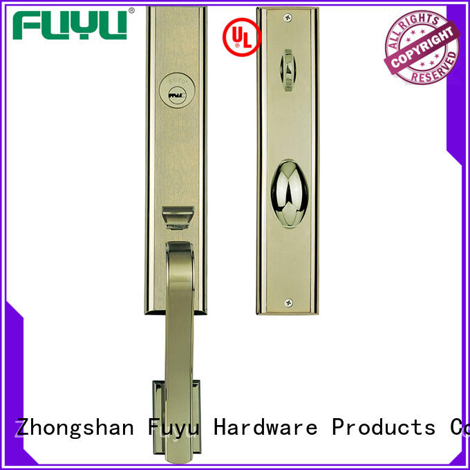 cylinder zinc alloy door lock for timber door door for mall FUYU