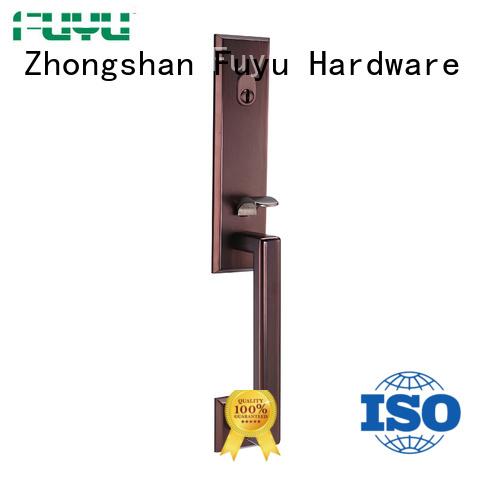 FUYU long custom zinc alloy door lock on sale for entry door