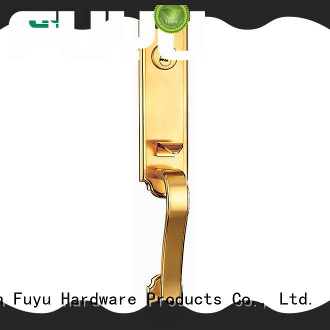 handle anti-theft zinc alloy door lock front for shop FUYU