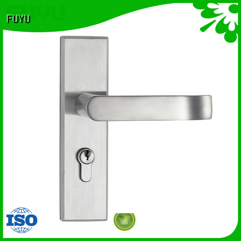 FUYU steel stainless steel security door lock extremely security for home