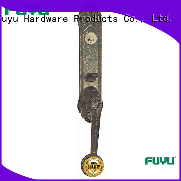 FUYU high security gate door lock on sale for mall