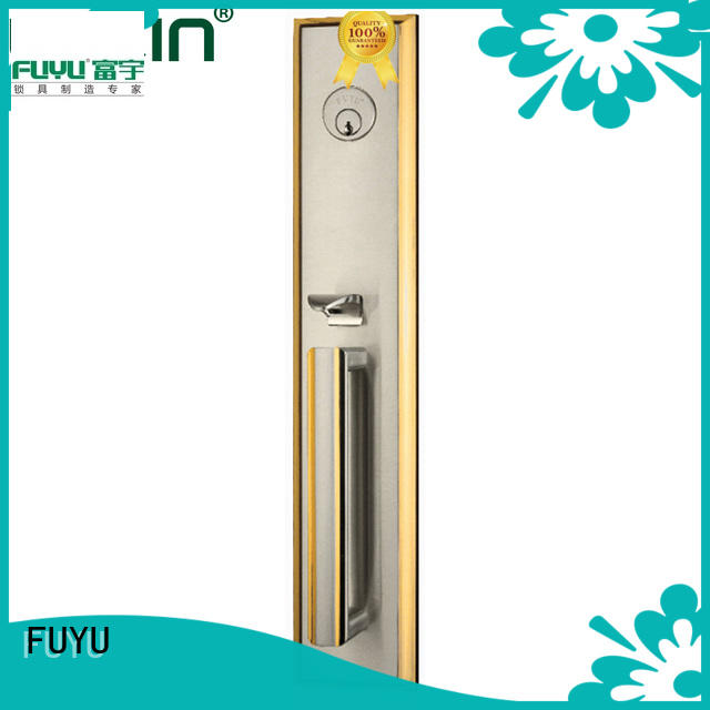 FUYU mortise door lock with international standard for wooden door