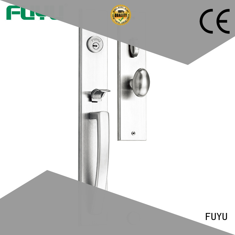 FUYU mortise stainless door lock extremely security for wooden door