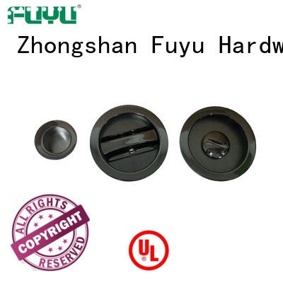 FUYU sliding door handle with lock supplier for shop