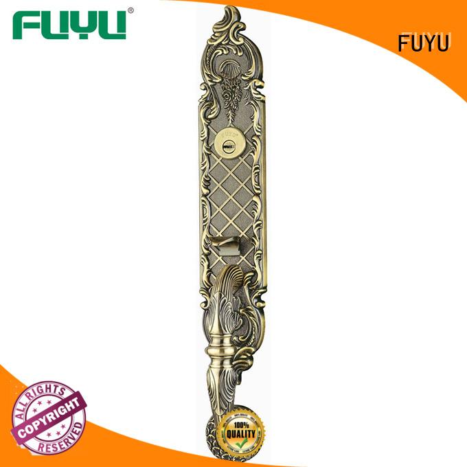 look zinc alloy door lock for wood door with latch for mall FUYU