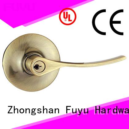 FUYU big zinc alloy door lock for wooden door on sale for shop