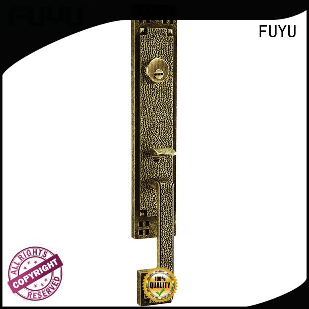 durable zinc alloy door lock for timber door dubai with latch for shop